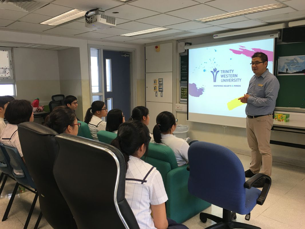 Consultation session by Trinity Western University (Canada)