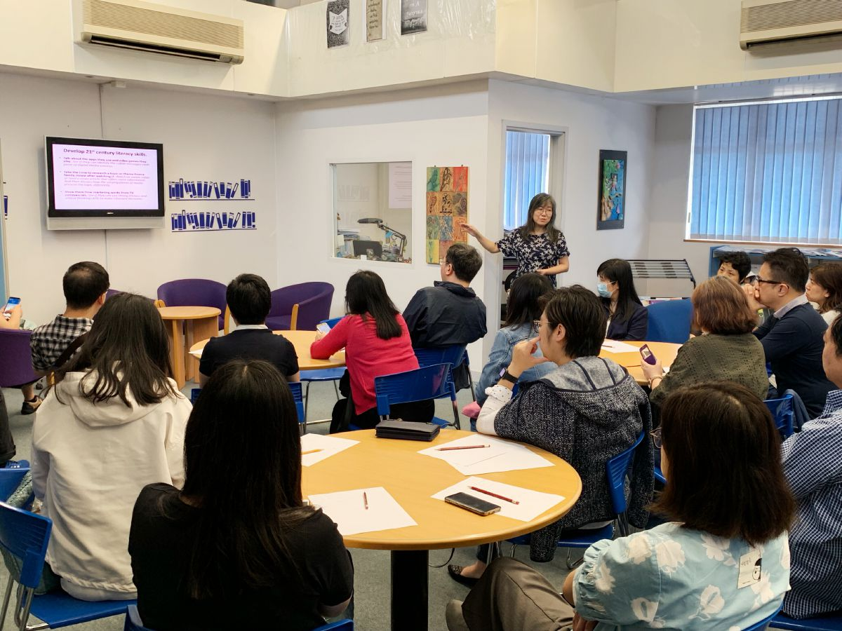 Literacy Workshop for Parents of S.1-3 students